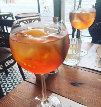 French Quarter Aperol Spritz