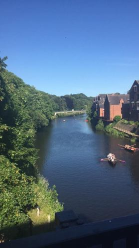 Rowing in Durham