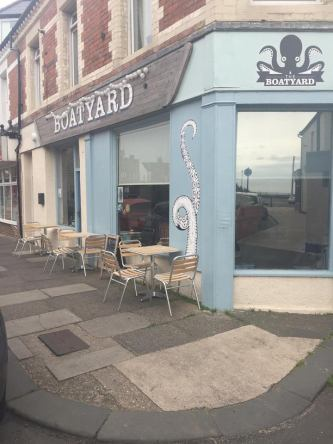 The Boatyard Cullercoats Front