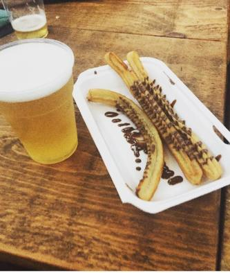 Wylam Brewery Luncha Libre Churros con Chocolate