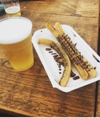 Wylam Brewery Luncha Libre Churros con Chocolate