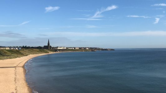 Tynemouth looking to Cullercoats