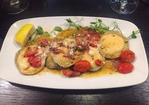 Lobster and Ricotta Ravioli
