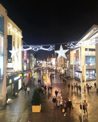 Christmas on Northumberland Street